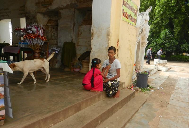Посетители Багана