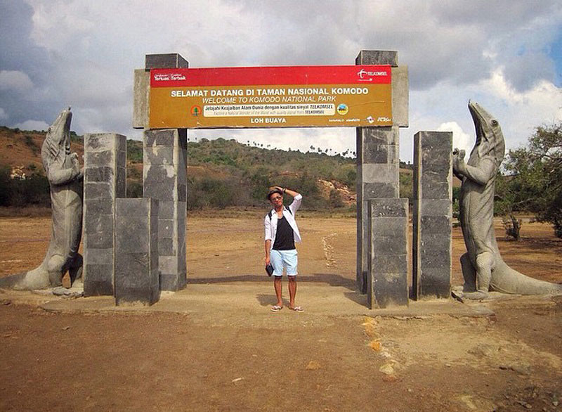 Komodo Island Entrance