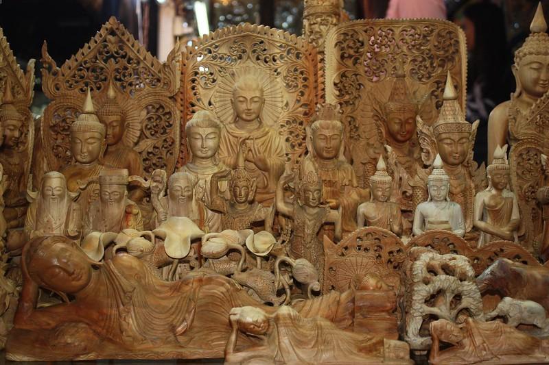 Сувениры из Бирмы