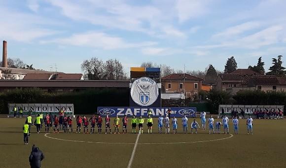 Vigasio-Virtus Verona 2-1: derby amaro, i legni frenano i rossoblu