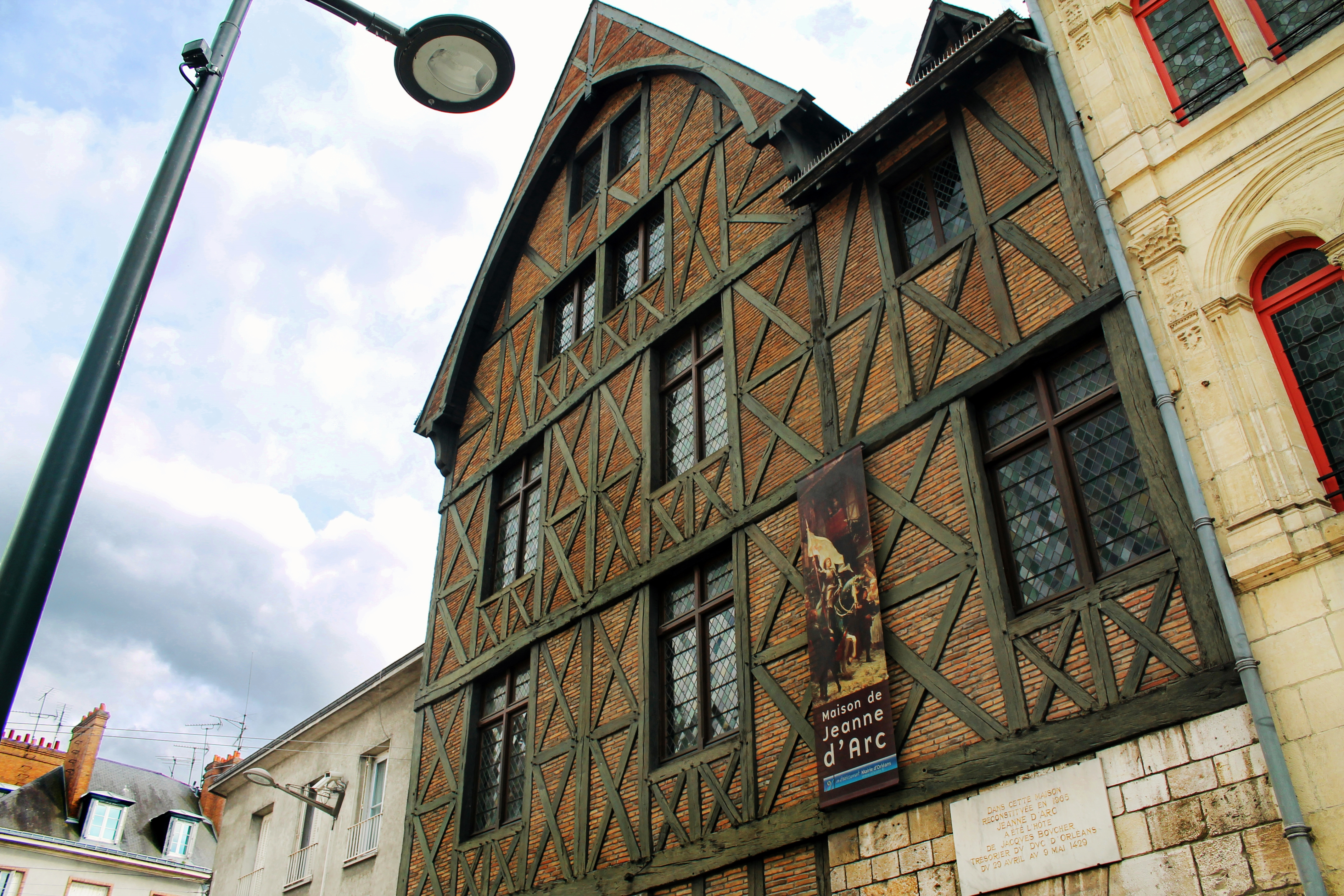 Drawing Dreaming - guia de visita de Orléans, Loire - Maison Jeanne d'Arc
