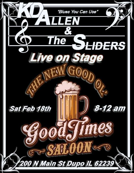 KD Allen & The Sliders 2-18-17
