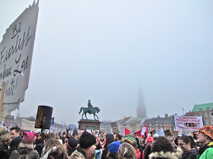 Womens March Copenhagen January 21st 2017