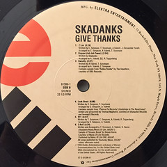 SKADNKS:GIVE THANKS(LABEL SIDE-B)