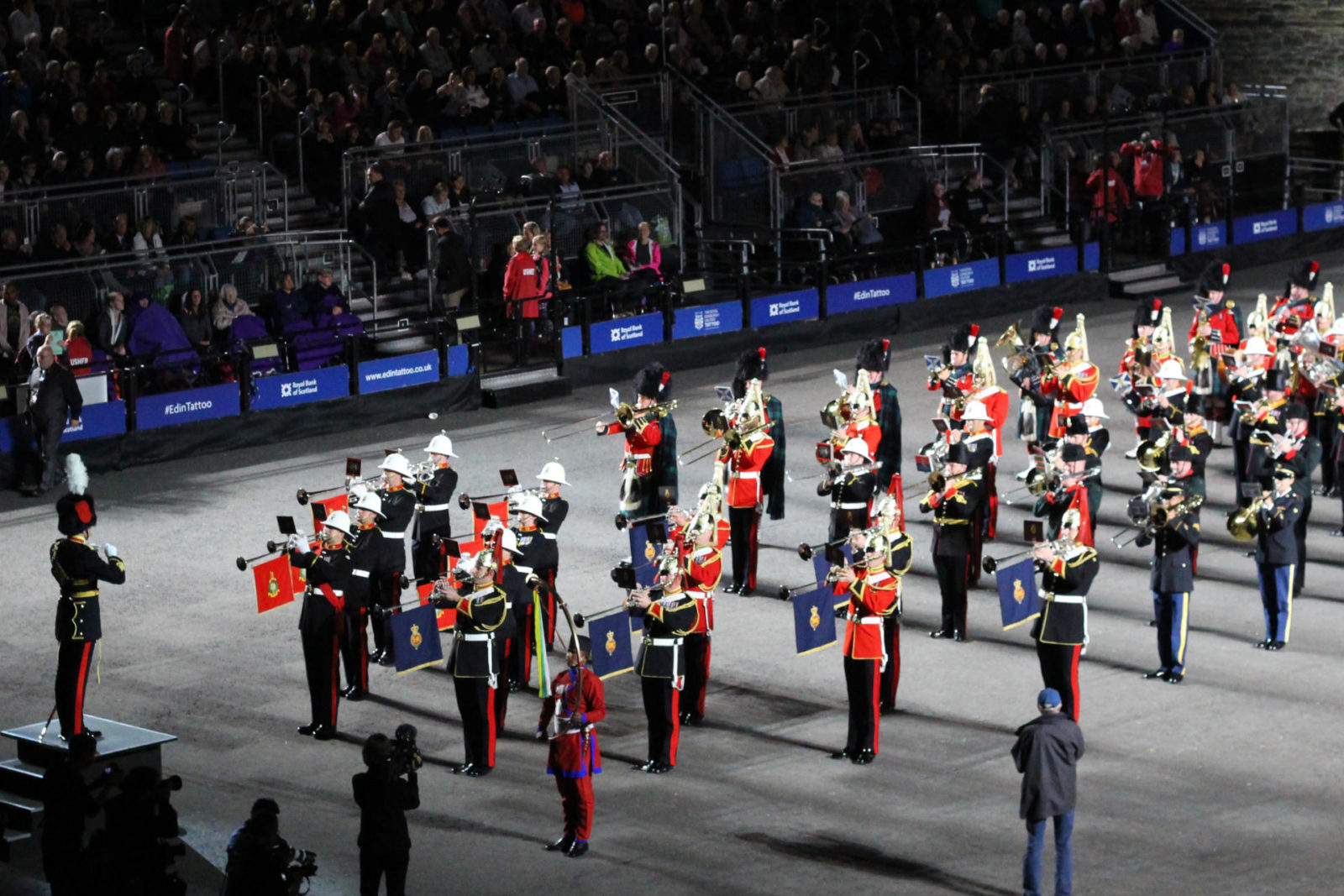 Edinburgh Royal Military Tattoo 2016 travel blogger