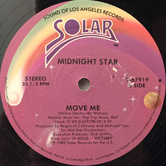 MIDNIGHT STAR:FREAK-A-ZOID(LABEL SIDE-B)