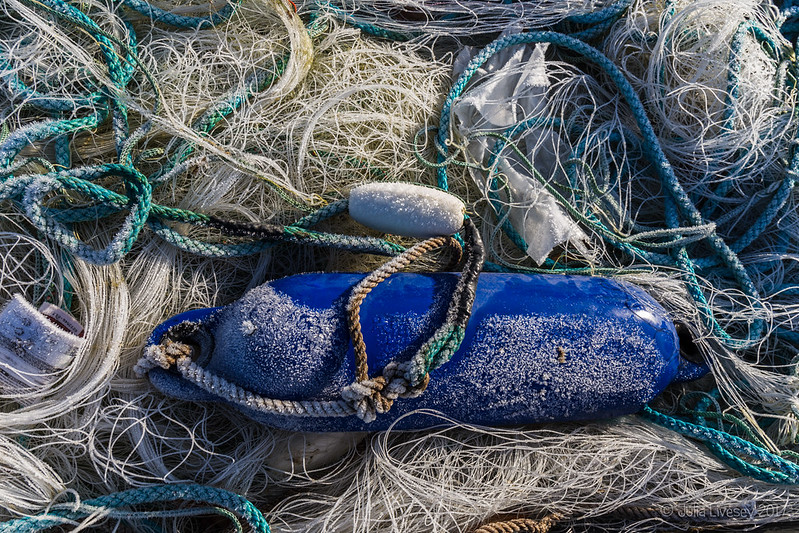 Fishing nets and float