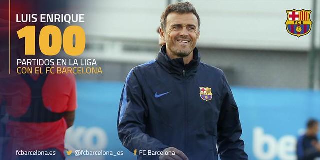 Luis Enrique: 100 partidos de Liga con el FC Barcelona