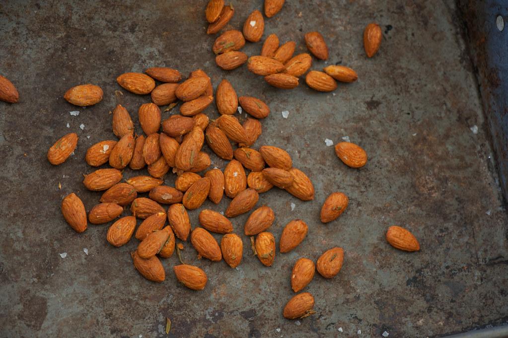 Smoky Paprika Roast Almonds