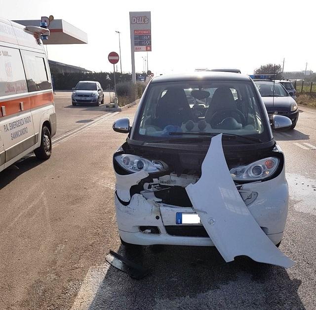 Noicattaro. Incidente S.P. 240 intero2