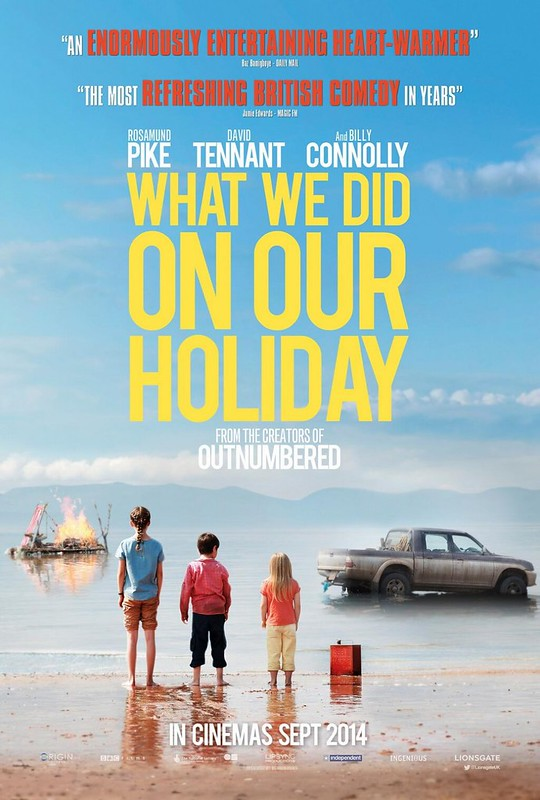 What We Did on Our Holiday - Poster 1