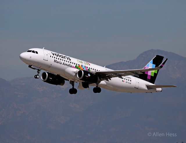 Volaris, Airbus A32O.....2017-0307-043