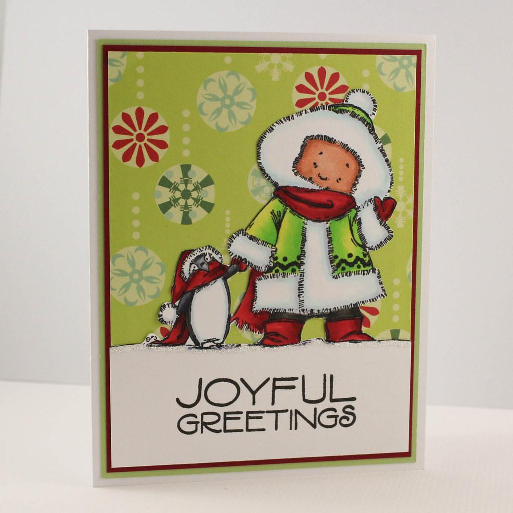 Handmade Christmas Card Elegant Christmas Card Unique