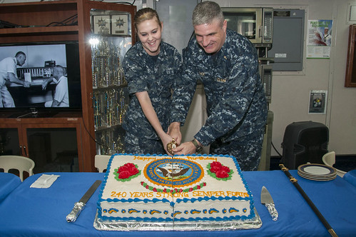 BHR Celebrates the US Navy's 240th Birthday