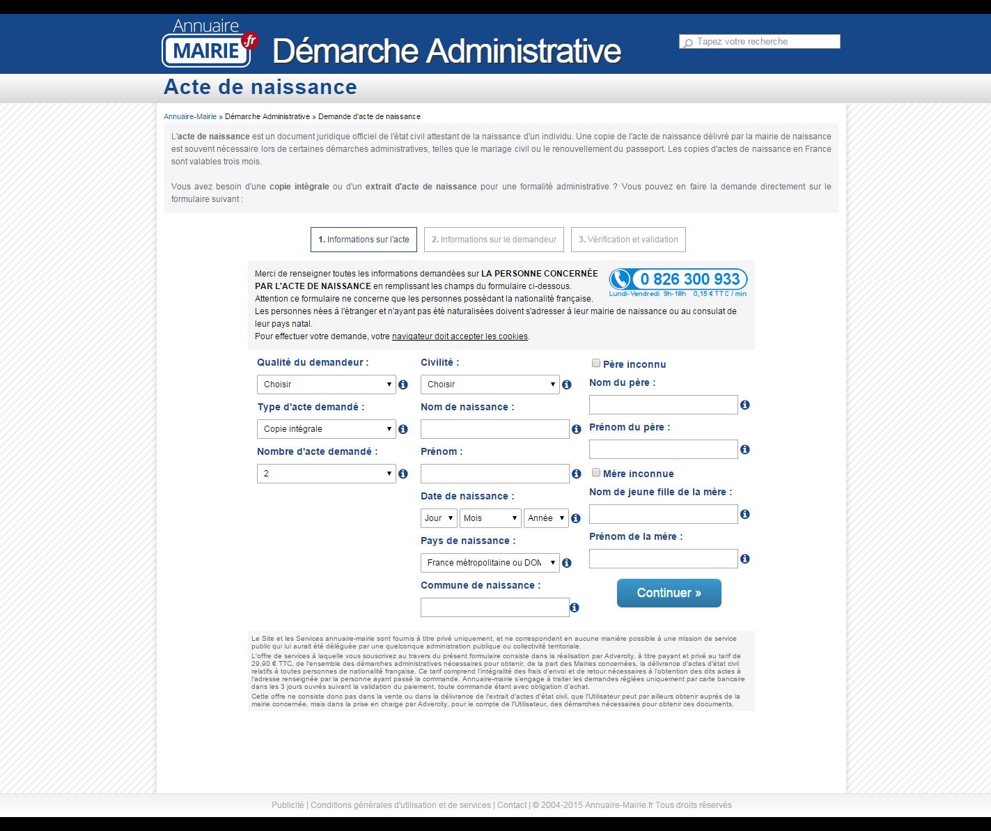 Démarches administratives : mise en garde contre les sites internet payants