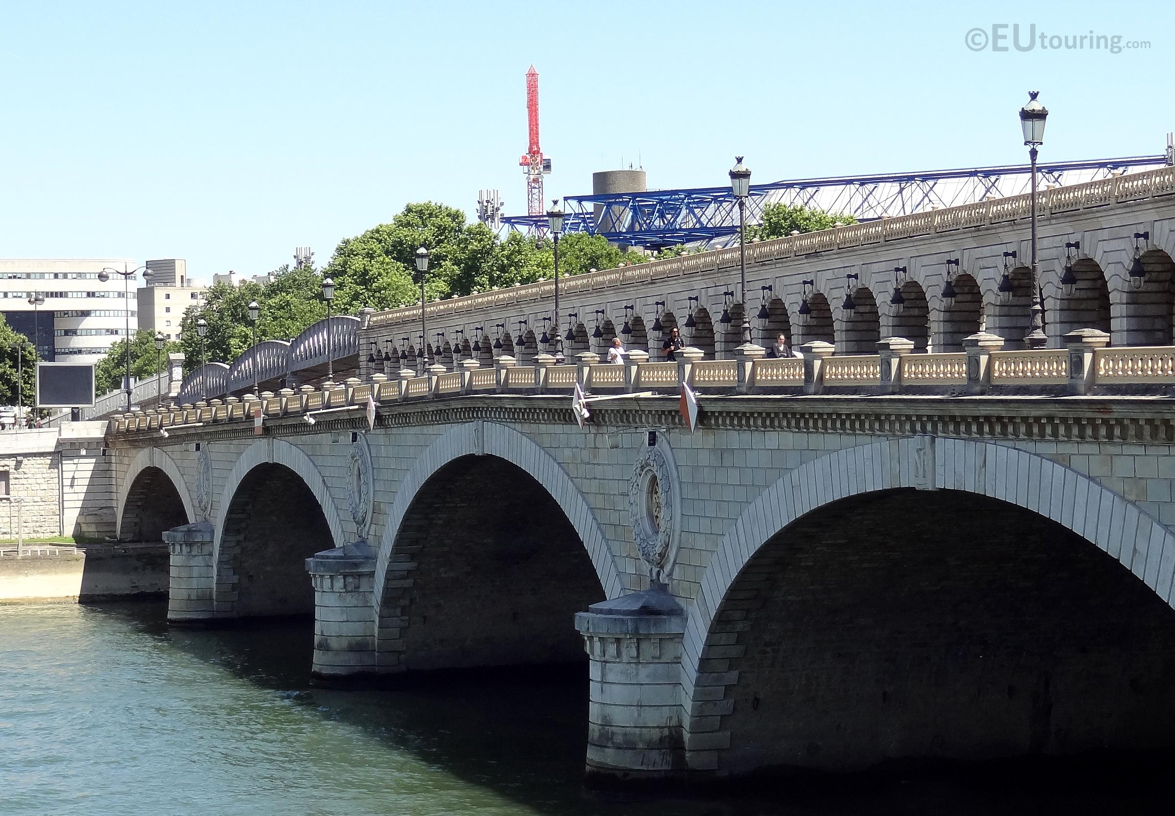 Side of Pont de Bercy