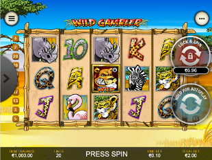 Wild Gambler Mobile slot game online review
