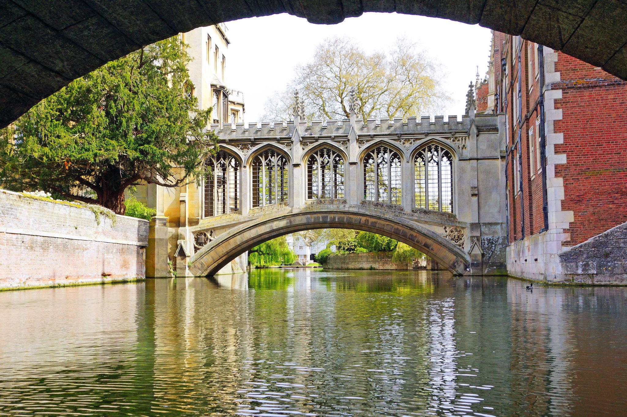 The Bridge of Sighs, Cambridge, UK [2048x1365]