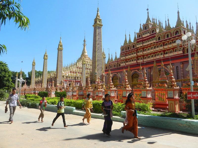 Моньуа, храм Thanboddhay Paya