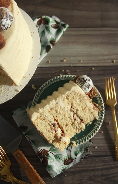 Kentucky Bourbon Bacon Cake