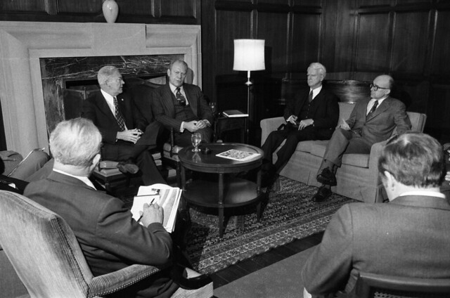 President Ford Gifts Presidential Papers to University of Michigan