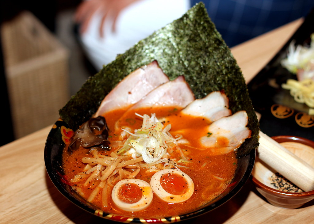 Ramen In Singapore: Ramen Keisuke Kani King Crab Broth Ramen With Rich Soup
