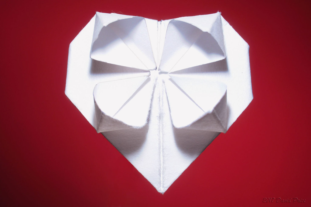 Dsc6170a Paper Heart Origami 1800 For The Macro Monday Flickr