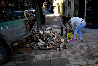 A symptom of Greek economic crisis is air pollution as people switch to burning wood instead of more heavily taxed heating oil/electricity | by Teacher Dude's BBQ