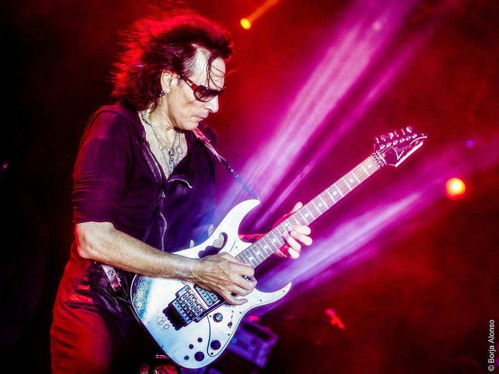 Steve Vai Murcia 404 Editar Olympus Digital Camera Flickr