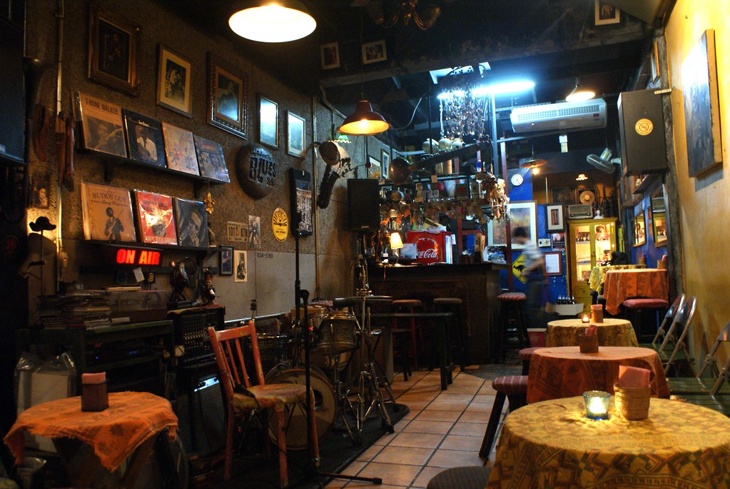 Club de Blues à Bangkok : Adhere the 13th Blues Bar près de Khao San Road.