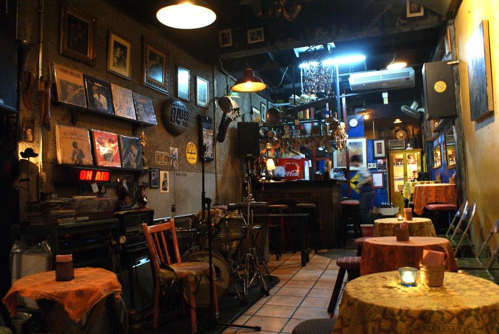 Club de Blues à Bangkok : Adhere the 13th Blues Bar près de Khao San Road.