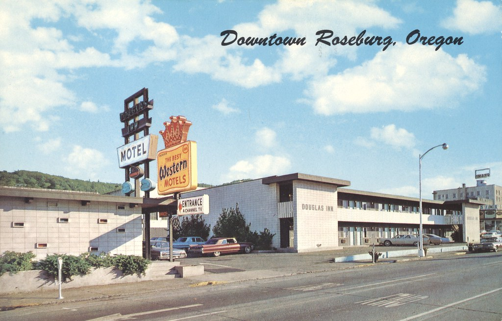 the cardboard america motel archive douglas inn motel. Black Bedroom Furniture Sets. Home Design Ideas