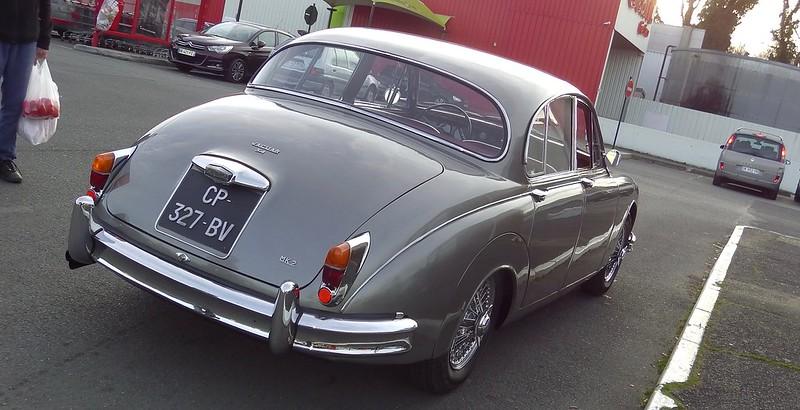 Jaguar 3,4 Litres Mk2 / 1961 - Saint Michel (91) Fév 2017 33070355456_0787d02aa9_c