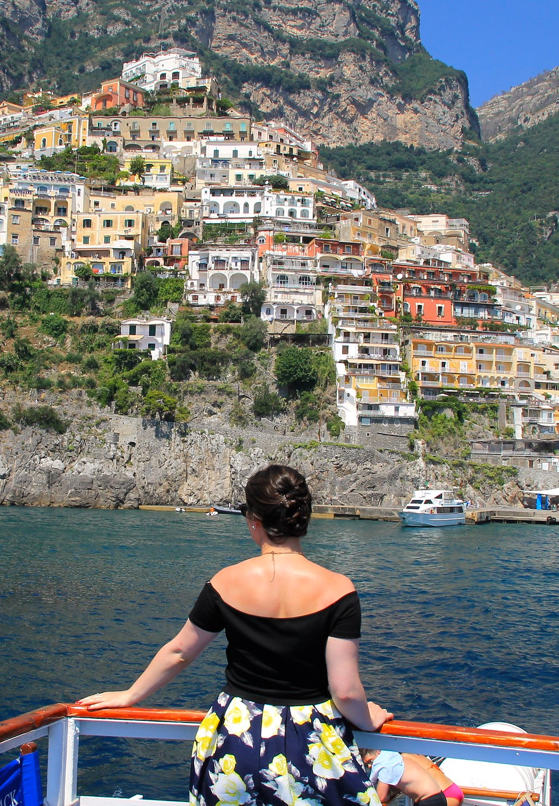 Positano Capris Italy travel blogger UK