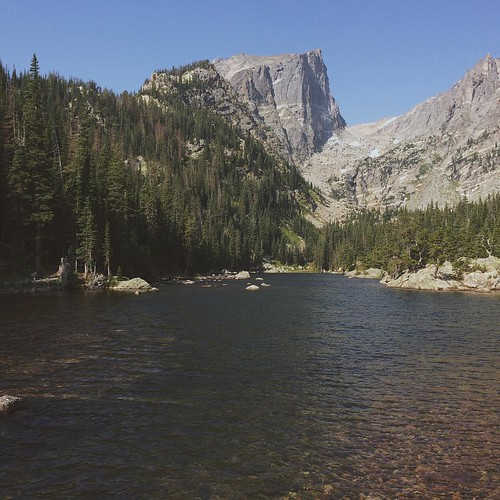 Colorado Elevation: Dream Lake (elevation 9,905'), In Rocky Mountain National