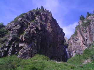 Desfiladeiro Turgen, Cazaquistao