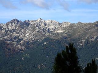 Arrivée sur la crête du Kyrie Eleison : Migliarellu - Monte d'Oru