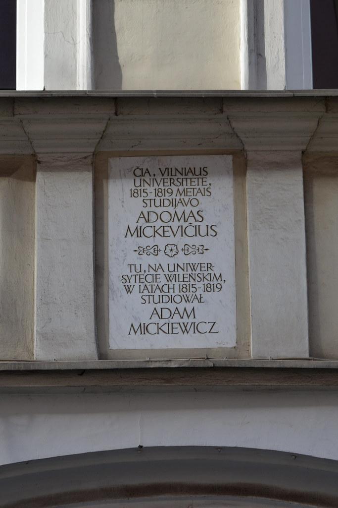 Adomas Mickeviius Adam Mickiewicz