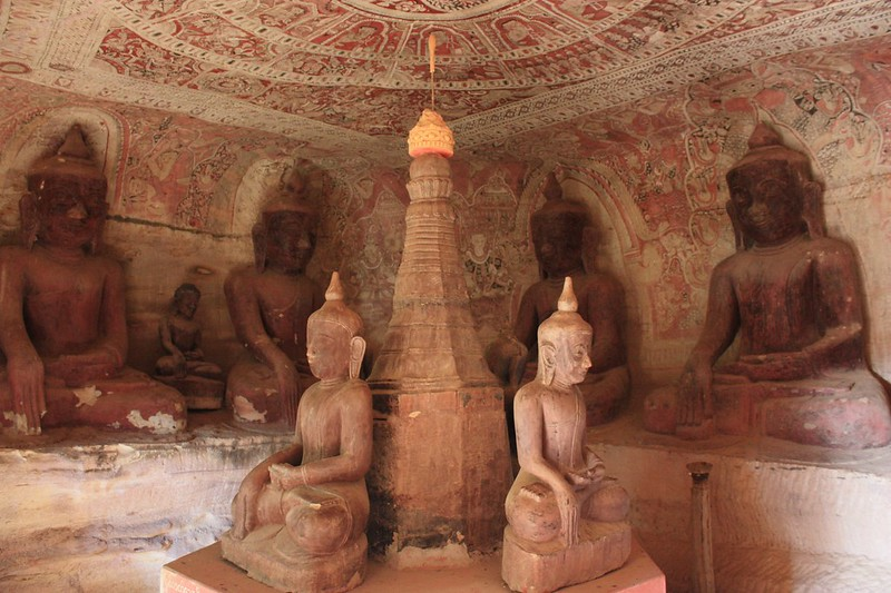 Пховин в окрестностях Монивы (Бирма)