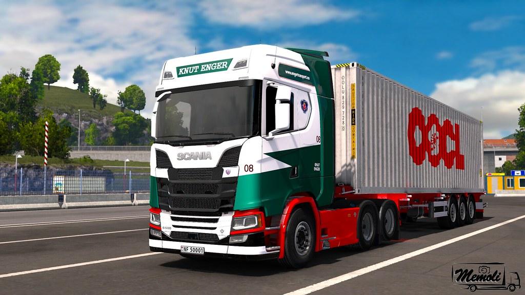 ets2_00357do | Scania S580 - Knut Enger | Memoli156 | Flickr