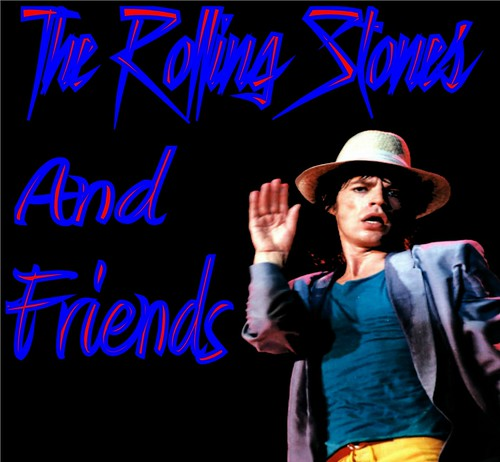 Rolling Stones And Friends Front