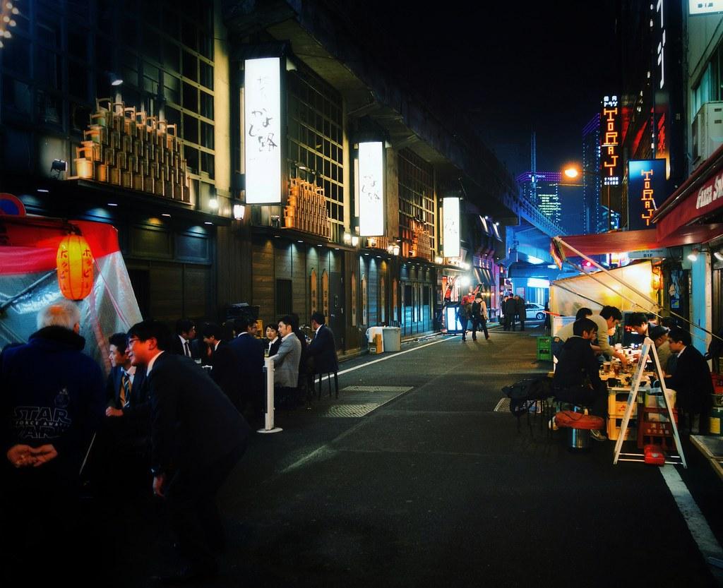 Yurakucho Yakitori Alley