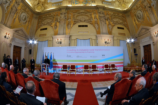 #RuralTransformation conferenza internazionale IFAD MEF