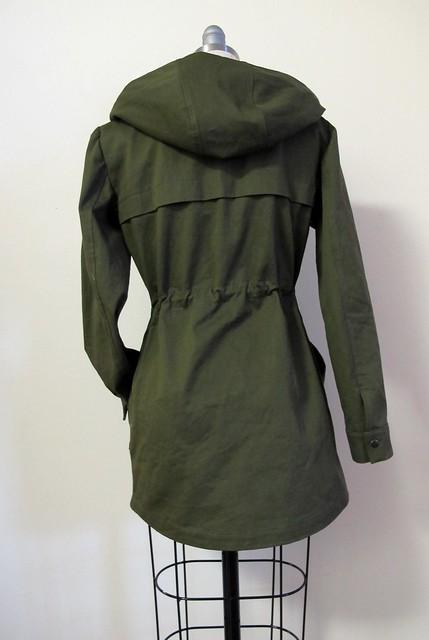 Kelly Anorak in Organic Cotton Twill from Mood Fabrics