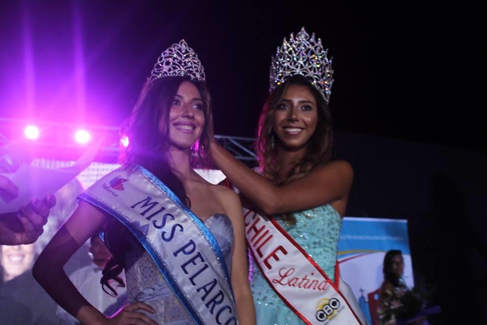 Miss Pelarco 2016 entrega corora a Miss Pelarco 2017