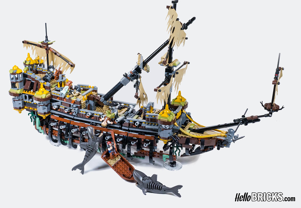 Lego 71042 - Pirates of Caribbean - Silent Mary | Review ...