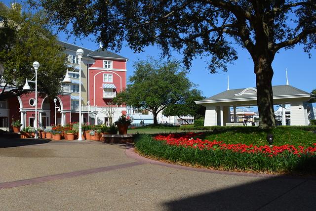 Disney's Boardwalk Inn Croquet Lawn