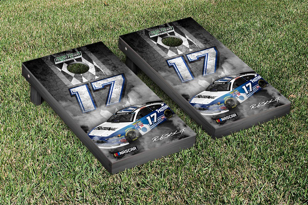 RICKY STENHOUSE JR #17 CORNHOLE GAME SET PIT ROW VERSION (1)