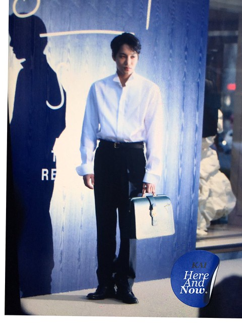 170315 Kai at Burberry S/S 2017 Launching Event