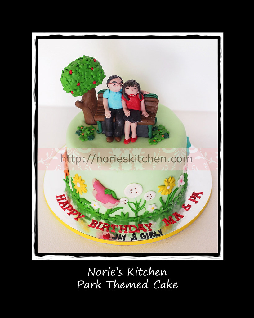 Nories Kitchen Park Theme Cake Please Like Our Facebook Flickr